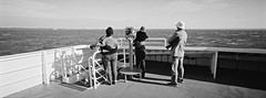 Binoculars iv (@fotodudenz) Tags: hasselblad xpan 30mm ultra wide angle 35mm ilford xp2 super sorrento queenscliff ferry melbourne victoria australia 2018 panorama panoramic binoculars port phillip bay
