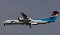 Bombardier DH 8-400 ~ LX-LGG  Luxair (Aero.passion DBC-1) Tags: spotting cdg roissy dbc1 david biscove aeropassion avion aircraft aviation plane airlines airliner bombardier dh 8400 ~ lxlgg luxair