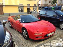 Honda NSX - Portugal (Freggs) Tags: 1991 coupe 30 v6 aveiro first generation vtec honda nsx portugal front