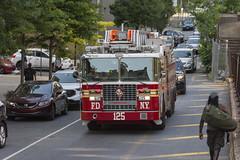 FDNY Ladder 125 (Camera-junkie) Tags: fdny thebronx firetruck fire photography photojournalism nikon nikond7100 nikonafsdxnikkor18200mmf3556gedvriilens