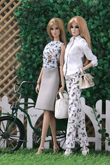 casual #3 #4 (grsve) Tags: doll fashionroyalty nuface integritytoys casual rayna rockmebaby imogen imogenbedaring convention