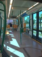 Nadie por delante (Micheo) Tags: granada spain metro tramway transporte vacío empty nobody summertime sunday domingo verano raro extraño strange iphone