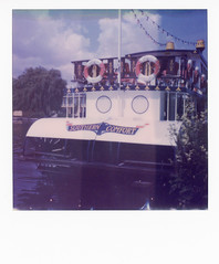 'Southern Comfort' (ho_hokus) Tags: 2018 horning impossibleproject instantcamera instantfilm norfolk polaroid polaroidsx70 sx70 southerncomfort boat ship riverbure river