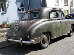 1956 Singer Hunter #2 (occama) Tags: 388fvw singer hunter 1956 old car cornwall uk british rat look rusty rootes saloon