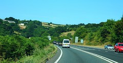 On the road in Cornwall (Eddie Crutchley) Tags: europe england cornwall outdoor road blueskies beauty car sunlight simplysuperb