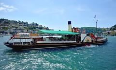 AUG_1801_00001 (Roy Curtis, Cornwall) Tags: uk devon dartmouth paddlesteamer kingswearcastle riverdart coast boats holidays
