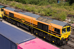 66413 (David Blandford photography) Tags: 66413 freightliner southampton maritime new colours livery