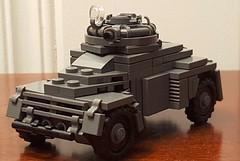 Black Devils Light Armored Recce Car (oberleutnant kräbs) Tags: rhodesia lego military car moc army