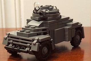 Black Devils Light Armored Recce Car