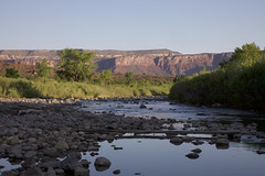 Dolores Canyon Dawn (Jeff Mitton) Tags: river canyon doloresrivercanyon doloresriver colorado coloradoplatea morning dawn sandstone landscape scenic earthnaturelife wondersofnature