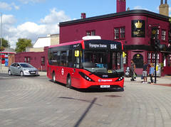 SLN 37503 - SN67WYP - BEXLEYHEATH BROADWAY - WED 8TH AUG 2018 (Bexleybus) Tags: bexleyheath broadway shopping town centre kent da7 tfl route stagecoach london selkent bromley tb adl dennis enviro 200 mmc b14 37503 sn67wyp