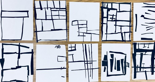 "Same #pietmondrian #kindergarten gridded #collage at its most simple elegance in black and white • <a style=""font-size:0.8em;"" href=""http://www.flickr.com/photos/57802765@N07/43896054601/"" target=""_blank"">View on Flickr</a>"