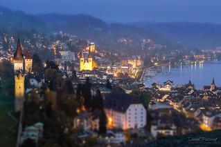 Luzerne at dusk