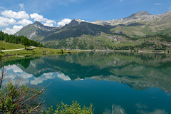 Reflections on Lake Sils (Bephep2010) Tags: 2017 77 alpem alpha berg engadin graubünden grisons himmel lakesils landschaft maloja pizgrevasalvas pizmaterdell reflektion sal1650f28 slta77v schweiz see silsersee sommer sony switzerland wald wasser alps forest lake landscape mountain reflection sky sonnig summer sunny water bregaglia ch
