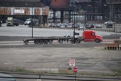 Interesting trailer (kschmidt626) Tags: train steel mill indiana chicago gary switching sw1500 amtrak hammond