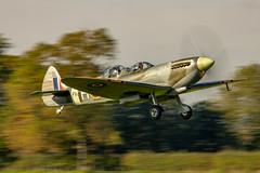 The £ 2,750.00 back seat ride ! (aquanout) Tags: spitfire aeroplane aviation plane