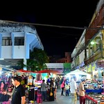 Nachtmarkt in Chiang Rai, Thailand