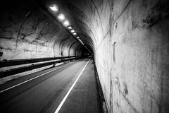 Straight Back Home to You (Thomas Hawk) Tags: america bunkerroadtunnel california marin marincounty marinheadlands northbay sausalito usa unitedstates unitedstatesofamerica bw tunnel fav10 fav25 fav50 fav100