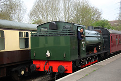 132 'Sapper', Hunslet Austerity 0-6-0ST, Avon Valley Railway, Bitton, Gloucestershire (Kev Slade Too) Tags: 132 sapper hunslet austerity 060st avonvalleyrailway bitton gloucestershire