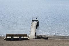 Sandstrand (Steffe) Tags: wordoftheday strand sandstrand beach bench horsfjärden haninge sweden swede