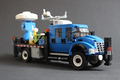 Doppler on Wheels (sponki25) Tags: doppler wheels dow truck boulder colorado dr joshua wurman stormchasing stormchaser weather thunderstorm tornado research cswr centerforsevereweatherresearch international workstar 7500 lego moc dopplerradar