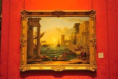 Claude Lorrain: Seaport with the Embarkation of the Queen of Sheba (Gabriel Bussi) Tags: london londra england inglaterra inghilterra angleterre uk united kingdom reino unido イギリス grosbritannien londres national gallery museo musée museum seaport with embarkation queen sheba claude lorrain