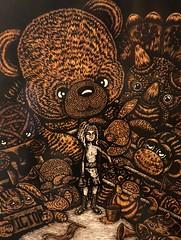 Jun Lee: In Your Corner Woodprint (misterperturbed) Tags: artscape2018 baltimore mica