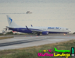 "YR-BMC Boeing 737-800 Blueair • <a style=""font-size:0.8em;"" href=""http://www.flickr.com/photos/146444282@N02/28741379647/"" target=""_blank"">View on Flickr</a>"