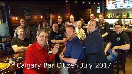 Calgary July 2018