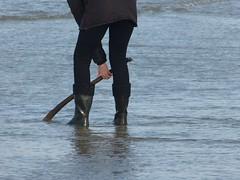With Vikings on the beach (willi2qwert) Tags: wellies wellingtons women wasser wet water wave watt strand beach rubberboots rainboots regenstiefel gummistiefel gumboots girl gummistövlar