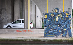 Police (HBA_JIJO) Tags: streetart urban graffiti art france hbajijo wall mur painting peinture paris93 urbain police crs adec scene