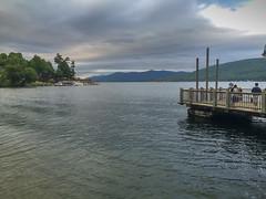 Lake George, New York (MacabreX) Tags: 2015 adirondack adirondackmountains all lake lakegeorge mountain newyork tonguemountainrange water