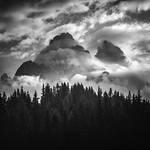 Moody morning in the Dolomites thumbnail
