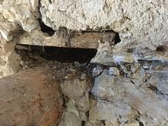 Hole above a beam