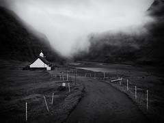 Saksun (Feldore) Tags: faroeislands faroe islands saksun church moody mist misty fog landscape feldore mchugh em1 olympus 1240mm