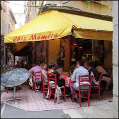 Ristorante all'aperto (Maulamb) Tags: ristorante nizza