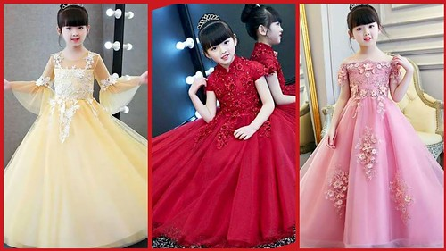 fce1da21c8217 Latest Baby Gown Dresses Buy Online  kids Princess Style Frocks  Kids Party