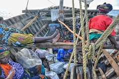 Dhow travel in northern Mozambique.