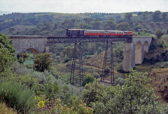 Linha do Tua-1985-CP 9020 (filhodaCP) Tags: comboiosdeportugal cp linhadotua tua narrowgauge metergauge metregauge viaestreita museuferroviário ferroviário
