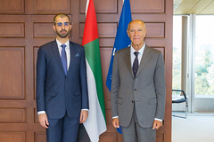 WIPO Director General Meets UAE's Top AI Official (WIPO | OMPI) Tags: wipo ompi francisgurry directorgeneral unitedarabemirates