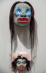 20180420_0080_1 (Bruce McPherson) Tags: brucemcphersonphotography audainartmuseum beaudick masks firstnationart creativemasks scultures originalart colourful whistlervillage whistler bc canada