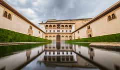 L'alhambra de Grenade  - Andalousie - Espagne (Lilian Mérico) Tags: alhambra espagne andalousie eau water agua patio