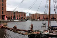 Royal Albert Dock - Liverpool, England (Petitecornichon) Tags: england uk 2017 liverpool mersey merseyside albert dock royal albertdocks royalalbertdock