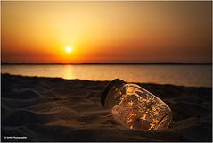 all the little lights (geka_photo) Tags: gekaphoto neustein deutschland schleswigholstein strand sonnenuntergang ostsee