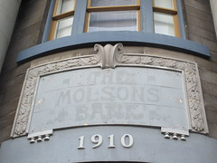 Molsons Bank (jamica1) Tags: molsons bank ghost sign downtown revelstoke bc british columbia canada