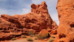 Hideout (arbyreed) Tags: arbyreed red redrock sandstone redsandstone formation erroded hideout rock windblownsandstone valleyoffire clarkcountynevada