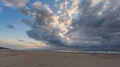Storm is coming - Texel (Wim Boon Fotografie) Tags: wimboon canoneos5dmarkiii canonef1740mmf4lusm texel storm wind noordzee sunset regen strand beach leefilternd09softgrad leefilternd06hardgrad
