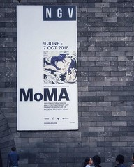 Can't wait. MoMA exhibition coming to NGV on June 9. #ngv #moma #melbourne (MB9848) Tags: ifttt instagram