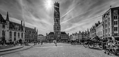 Bruges 2018 (9) MONOCHROME (YᗩSᗰIᘉᗴ HᗴᘉS +15 000 000 thx) Tags: bruges bn blackandwhite monochrome sun ray sunshine 7dwf belgium europa aaa namuroise look photo friends be wow yasminehens interest intersting eu fr