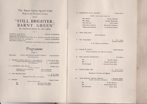 1929: Jan Programme 2